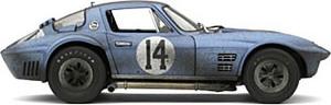 miniature de voiture Grand Sport Coupe #14 Augusta (Exoto 19027 FLP) Exoto Quirao idées cadeaux
