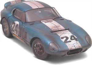 miniature de voiture Cobra Daytona, Coppa Di Enna finish line (Exoto 19012 FLP) Exoto Quirao idées cadeaux
