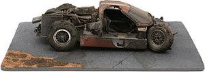 miniature de voiture Ford GT40 MKIV  #3 1967 Finish Line accident (Exoto 18052) Exoto Quirao idées cadeaux