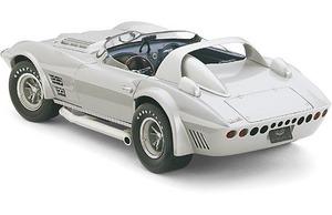 miniature de voiture GS Roadster Corvette factory prototype 1964 (Exoto 18030) Exoto Quirao idées cadeaux