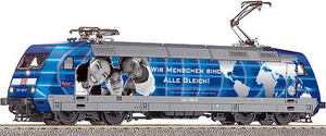 train miniature Loco élec 101  Azubis gegen Hass und Gewalt  DB AG (Roco 63568) Roco Quirao idées cadeaux