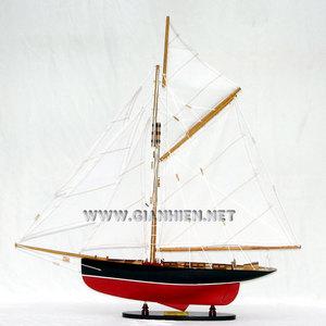 maquette de bateau, voilier, runabout Mayflower 1886 - 80 cm Gia Nhien Quirao idées cadeaux