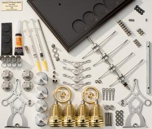 moteur stirling hb28 4 cylindres kit. Black Bedroom Furniture Sets. Home Design Ideas