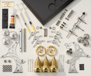moteur stirling hb33 3 cylindres kit. Black Bedroom Furniture Sets. Home Design Ideas