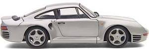 miniature de voiture Porsche 959  1985 argent (Exoto MTB00003) Exoto Quirao idées cadeaux