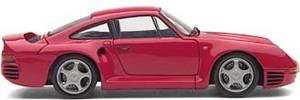 miniature de voiture Porsche 959  1985 rouge (Exoto MTB00004) Exoto Quirao idées cadeaux