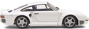 miniature de voiture Porsche 959  1985 blanche (Exoto MTB00005) Exoto Quirao idées cadeaux