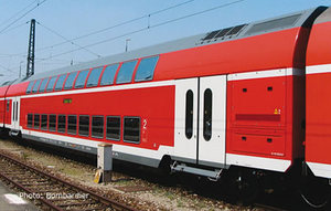 train miniature Voiture 2 niveaux 1/2 CL DB AG (Roco 64222) Roco Quirao idées cadeaux