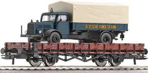 train miniature Wagon plat DB (Roco 66352) Roco Quirao idées cadeaux