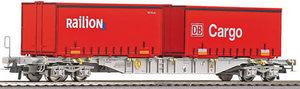 train miniature Wagon porte conteneur DB AG (Roco 66627) Roco Quirao idées cadeaux