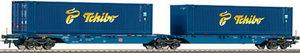 train miniature Wagon porte-conteneurs Sggnos 715 DB AG (Roco 66598) Roco Quirao idées cadeaux