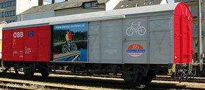train miniature Wagon transport de vélos ÖBB (Roco 66666) Roco Quirao idées cadeaux
