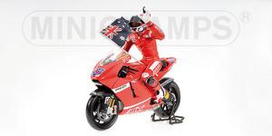 miniature de moto Ducati Desmo 16 Stoner Minichamps Quirao idées cadeaux