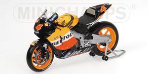 miniature de moto Honda RC211V A Barros Minichamps Quirao idées cadeaux