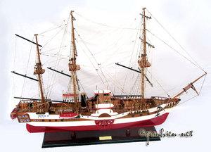 maquette de bateau, voilier, runabout L'Orenoque (coque 57 cm) Gia Nhien Quirao idées cadeaux