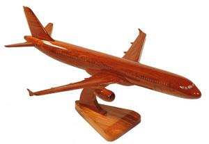 maquette d'avion A 321 - 20 cm Replicart-Wood Quirao idées cadeaux