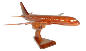 maquette d'avion Boeing 757 - 40 cm Replicart-Wood Quirao idées cadeaux