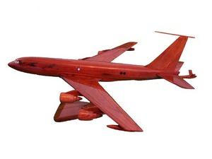 maquette d'avion Boeing KC 135 - 40 cm Replicart-Wood Quirao idées cadeaux