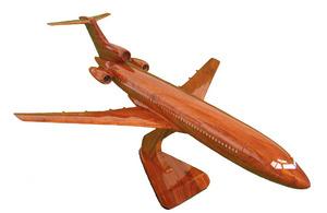 maquette d'avion B 727 - 20 cm Replicart-Wood Quirao idées cadeaux
