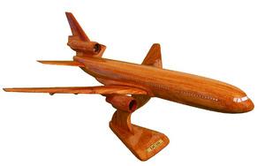 maquette d'avion DC 10 - 40 cm Replicart-Wood Quirao idées cadeaux