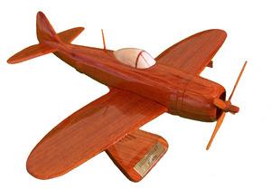 maquette d'avion P47 Thunderbolt Replicart-Wood Quirao idées cadeaux