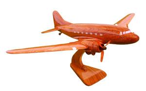 maquette d'avion Douglas DC3 - 40 cm Replicart-Wood Quirao idées cadeaux