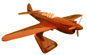 maquette d'avion P40 Warhawk Replicart-Wood Quirao idées cadeaux