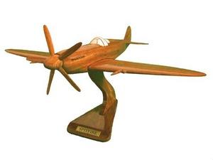 maquette d'avion Spitfire - 20 cm Replicart-Wood Quirao idées cadeaux