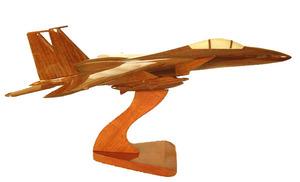 maquette d'avion F15 Replicart-Wood Quirao idées cadeaux