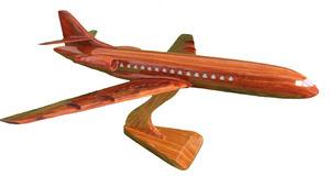 maquette d'avion Caravelle - 20 cm Replicart-Wood Quirao idées cadeaux