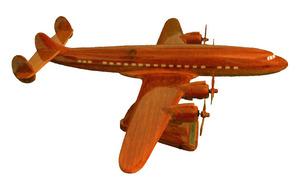 maquette d'avion Constellation - 40 cm Replicart-Wood Quirao idées cadeaux