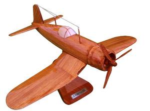 maquette d'avion Corsair - 20 cm Replicart-Wood Quirao idées cadeaux