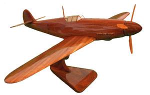 maquette d'avion Messerschmitt - 20 cm Replicart-Wood Quirao idées cadeaux