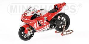 miniature de moto Ducati Desmo GP8 Pedrosa Minichamps Quirao idées cadeaux