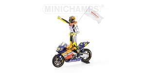 miniature de moto Honda RC200V Rossi 1er VI Minichamps Quirao idées cadeaux