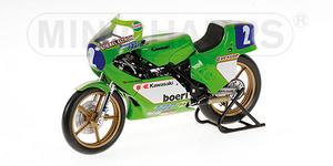 miniature de moto Kawasaki KR350  A.Mang 81 Minichamps Quirao idées cadeaux