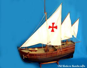 maquette de bateau, voilier, runabout Nina 60 cm Old Modern Handicrafts Quirao idées cadeaux
