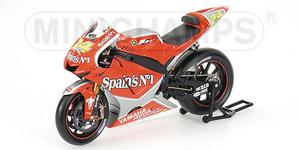miniature de moto Yamaha YZR M1 Elias Minichamps Quirao idées cadeaux