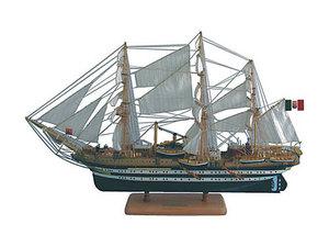 maquette de bateau, voilier, runabout Amerigo Vespucci - 100 cm  Quirao idées cadeaux