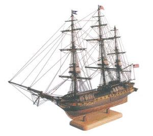 maquette de bateau, voilier, runabout USS Constitution - 98 cm  Quirao idées cadeaux