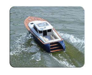 maquette de bateau, voilier, runabout Gold Coast - coque blanche- 100 cm  Quirao idées cadeaux