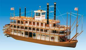 mississippi by mantua category model boat kits