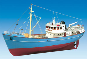 bateau à assembler NORDKAP 1/50 Billing Boat Quirao idées cadeaux