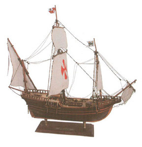 maquette de bateau, voilier, runabout Pinta - 56 cm  Quirao idées cadeaux