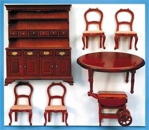 meuble maison de poup e salle manger 10879 artesania latina quirao id es cadeaux. Black Bedroom Furniture Sets. Home Design Ideas
