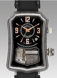 Boegli music watch Automatic contemporaine - M556 Boegli