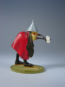 Parastone / Mouseion Bird with letter from the Temptation of Saint Anthony, by Hieronymus Bosch Parastone