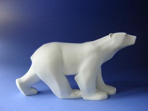 Parastone / Mouseion Ours blanc de Pompon- 11cm Parastone Quirao idées cadeaux