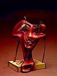 Parastone / Mouseion Autoportrait mou avec lard grillé (1941) de Dali Parastone Quirao idées cadeaux