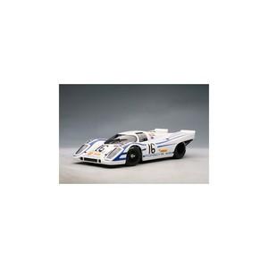 miniature de voiture PORSCHE 917K Elford 16 / AHRENS SEBRING 1970 Auto-Art Quirao idées cadeaux